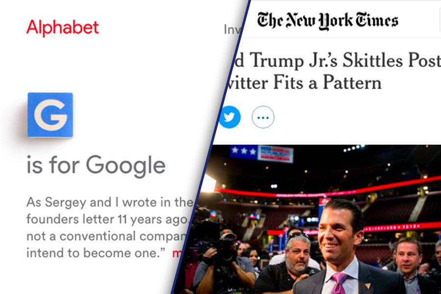 《紐約時報》(New York Times)今天說,為維護「有禮貌與體貼的」氛圍,將和谷歌(Google)母公司Alphabet合作,過濾讀者的網路留言。(網頁擷圖)