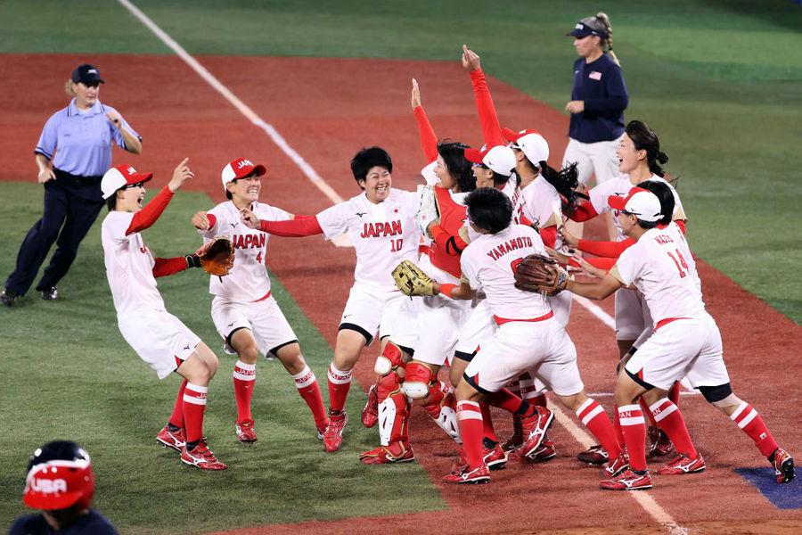 東奧7.27 日本女壘破勁旅美國奪金 投手上野由岐子取5次三振(附表)