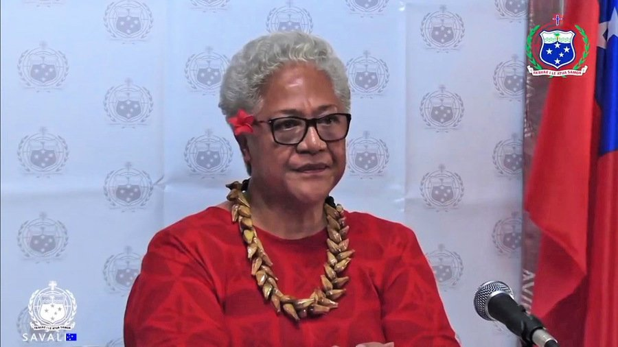 薩摩亞首位女總理掌政 擱置「一帶一路」
