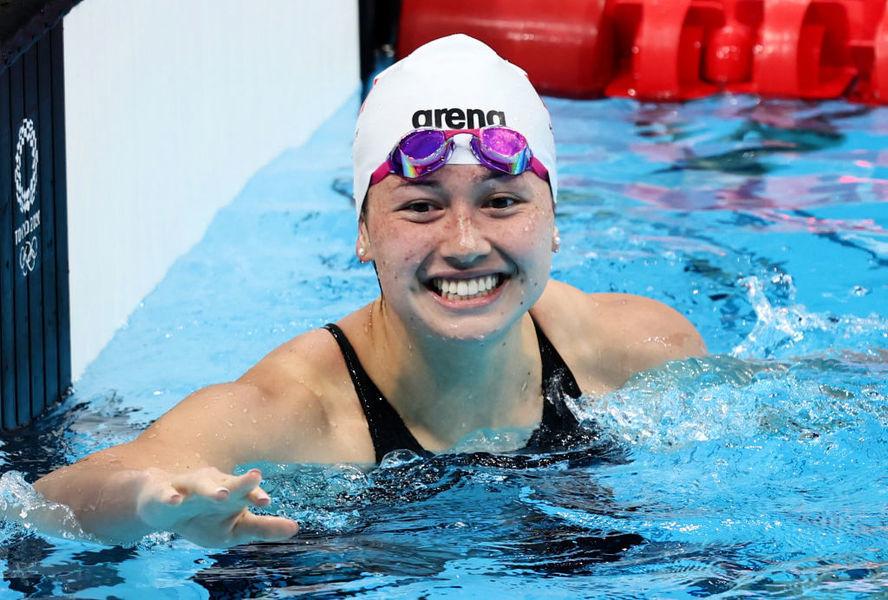東奧7.28 何詩蓓女子200米自由泳奪銀牌