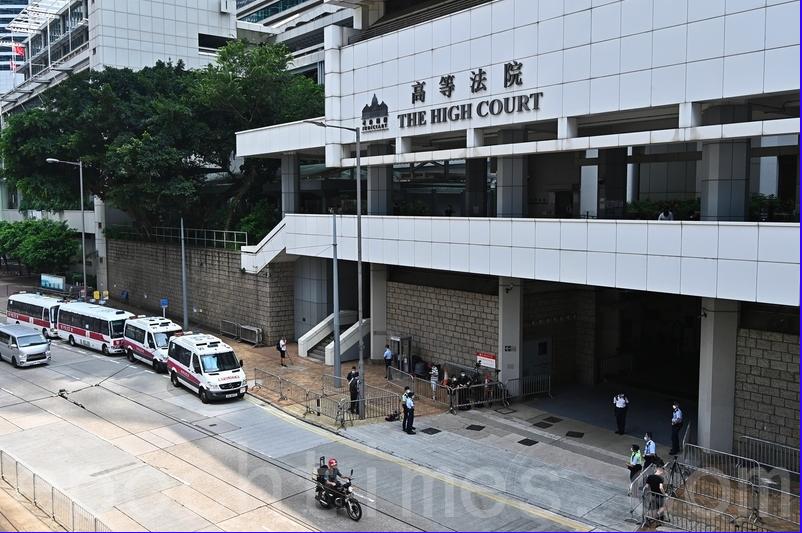 香港高等法院宣判首例《香港國安法》案件,24歲被告人唐英傑「煽動他人分裂國家罪」和「恐怖活動罪」均罪名成立。(宋碧龍/大紀元)