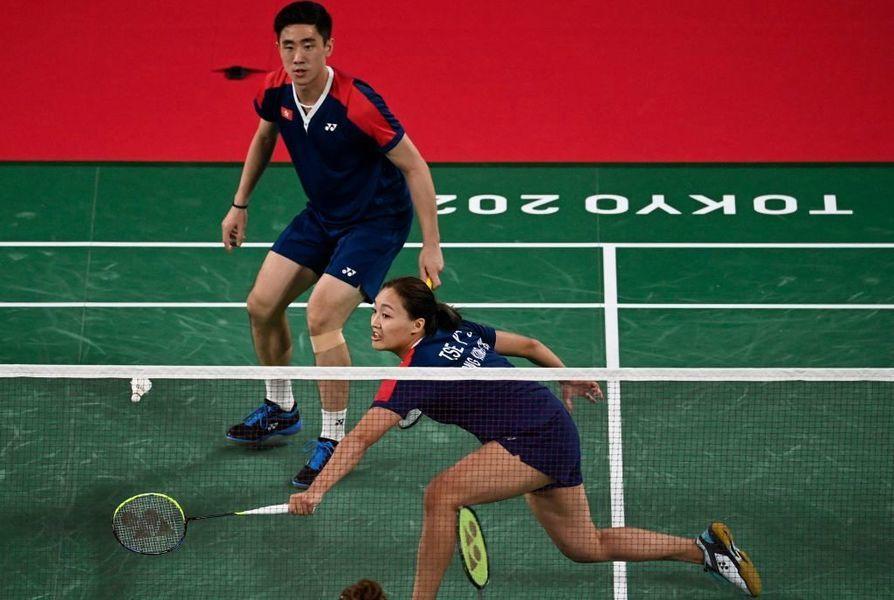 東奧7.28|羽混港隊「鄧謝配」2:0勝英國 晉級四強
