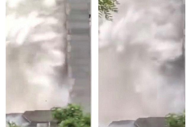 北京世茂大廈火災 現場濃煙滾滾 傷亡不明