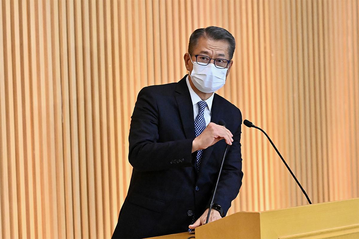 陳茂波昨日宣佈,已經根據《公司條例》委任陳錦榮為審查員,調查壹傳媒有限公司的事務。(宋碧龍/大紀元)