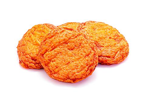 用魚漿製成的薩摩炸魚餅。