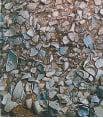 南宋官窯窯址瓦片堆積坑的廢棄瓦片。