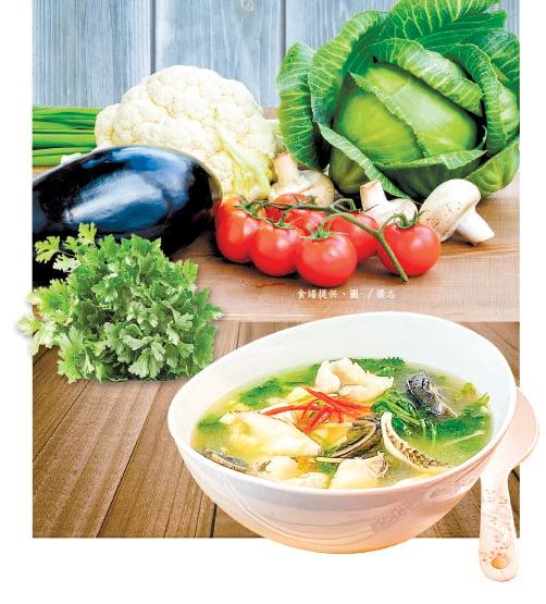 【梁廚美食】皮蛋豆腐魚片湯