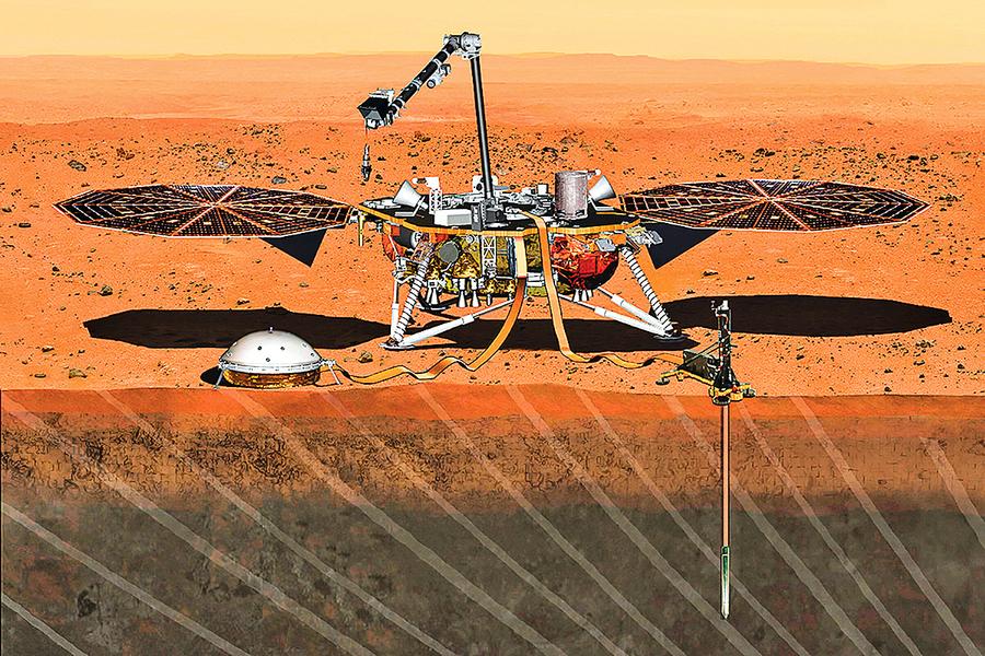 火星裏面是甚麼樣子? NASA公布第一份探測結果