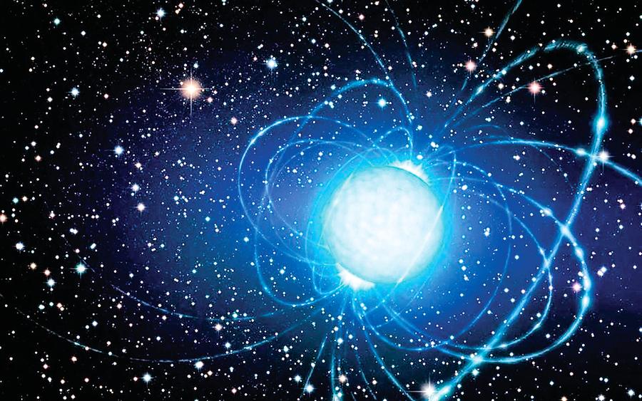 探秘直徑10公里中子星 最高山峰不足一毫米