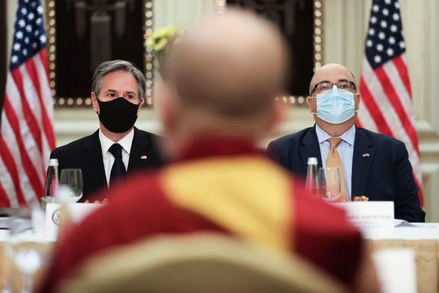 美國務卿訪印 明言要制衡日益囂張的中共