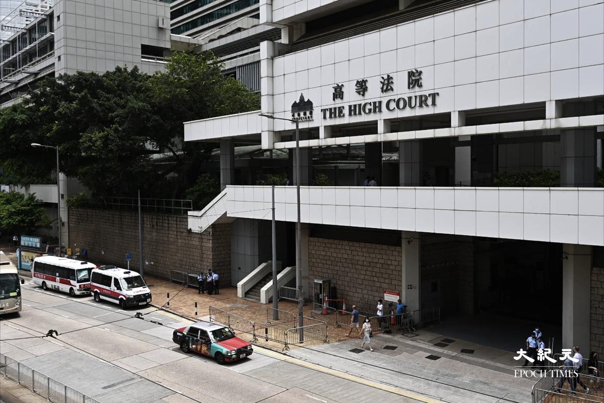 首名涉嫌違《國安法》的被告唐英傑於本周二被裁定兩罪罪成,今向法庭求情望輕判,明午3時判刑。(宋碧龍/大紀元)