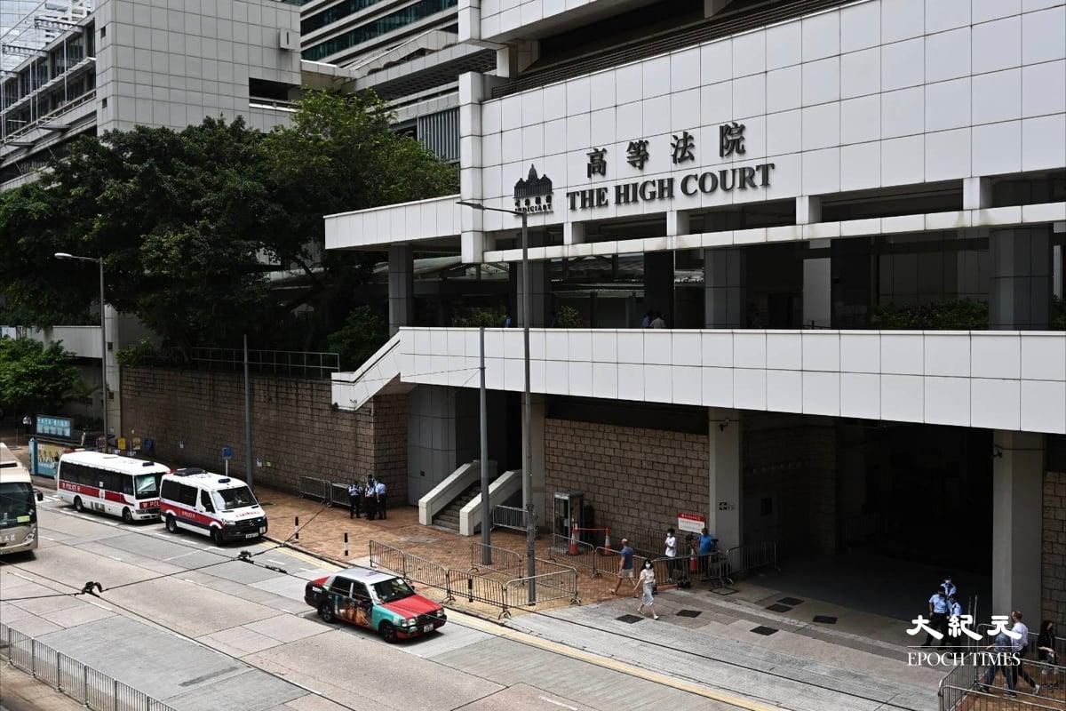 首名涉嫌違《國安法》的被告唐英傑於27日被裁定兩罪罪成。(宋碧龍/大紀元)