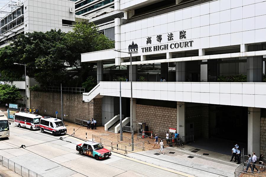 譚得志被控發表煽動文字等罪