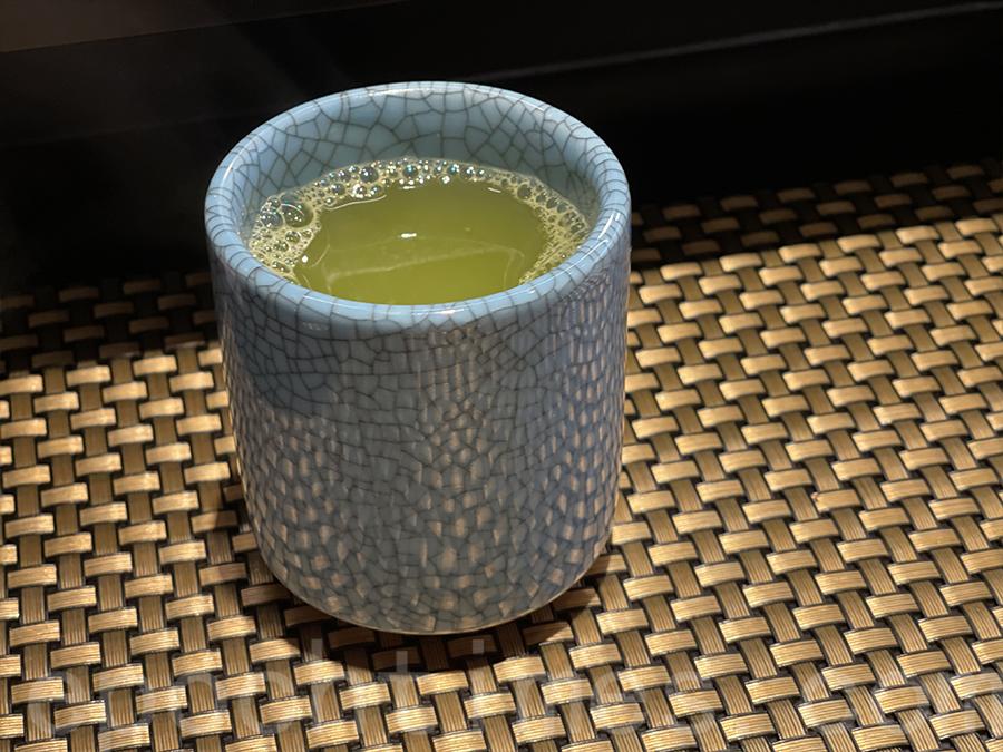 食甜品前更轉為綠茶,店員非常細心。(Siu Shan提供)