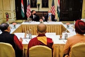 布林肯會達賴代表 王毅見塔利班