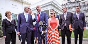 白宮宣佈達成「兩黨」基建計劃協議