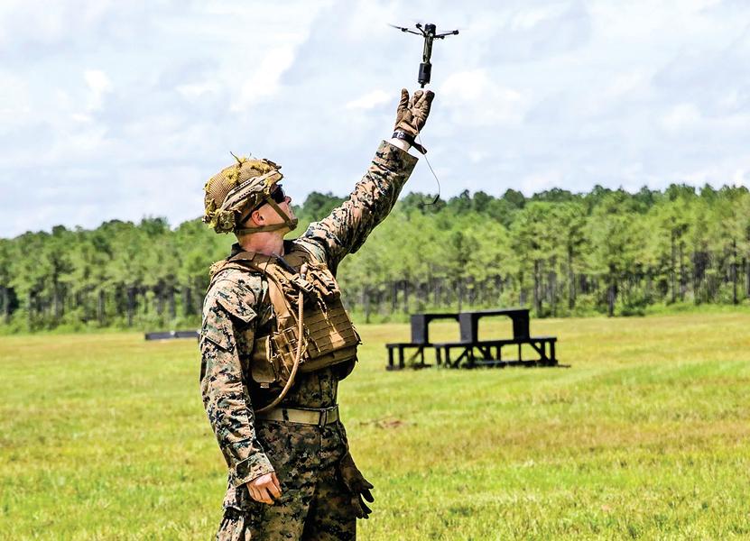 無人機變武器 美軍測試遠程操控的手榴彈