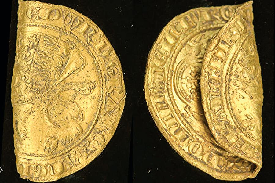 14世紀稀有金幣 英國出土純度96%