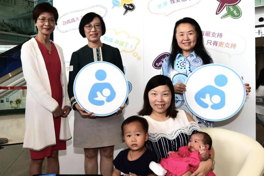 國際母乳哺育周|陳肇始:攜手合作支持母乳餵哺