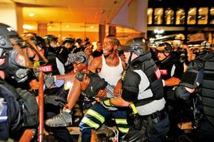 美北卡州連兩日爆騷亂