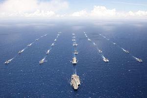 美軍展開四十年來最大規模演習