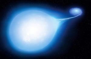 科學家觀測捕捉到 罕見超新星爆發前景象