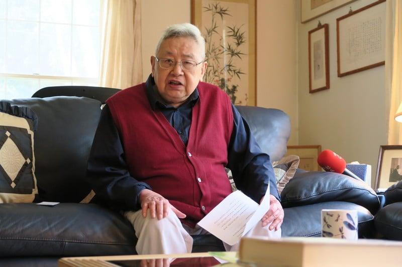 當代著名歷史學家余英時在今年8月1日辭世,享年91歲。(中央社)