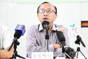 張達明辭任港大校委 質疑校委會禁止評議會學生入校決定