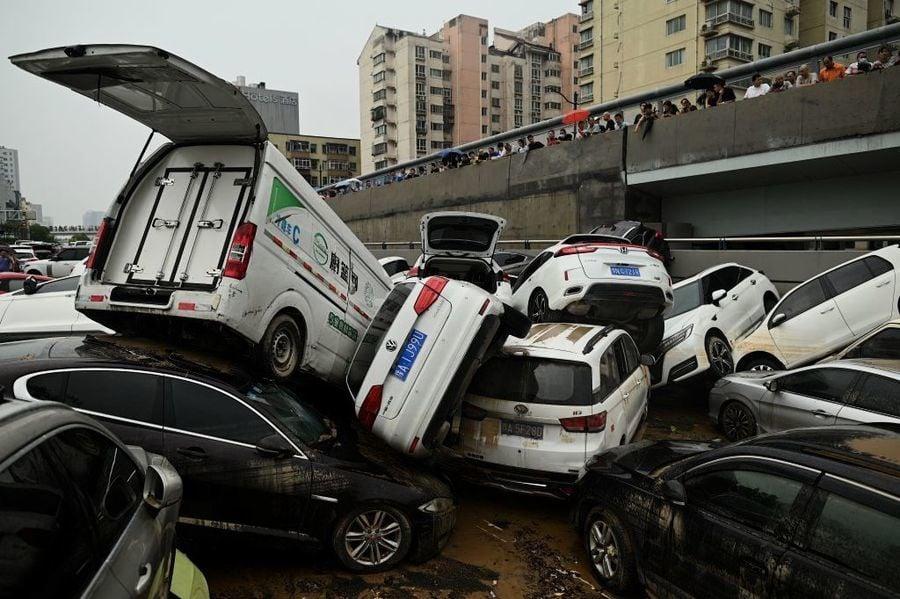 鄭州洪災過去多日中共高層無人問津 現突然要問責追責