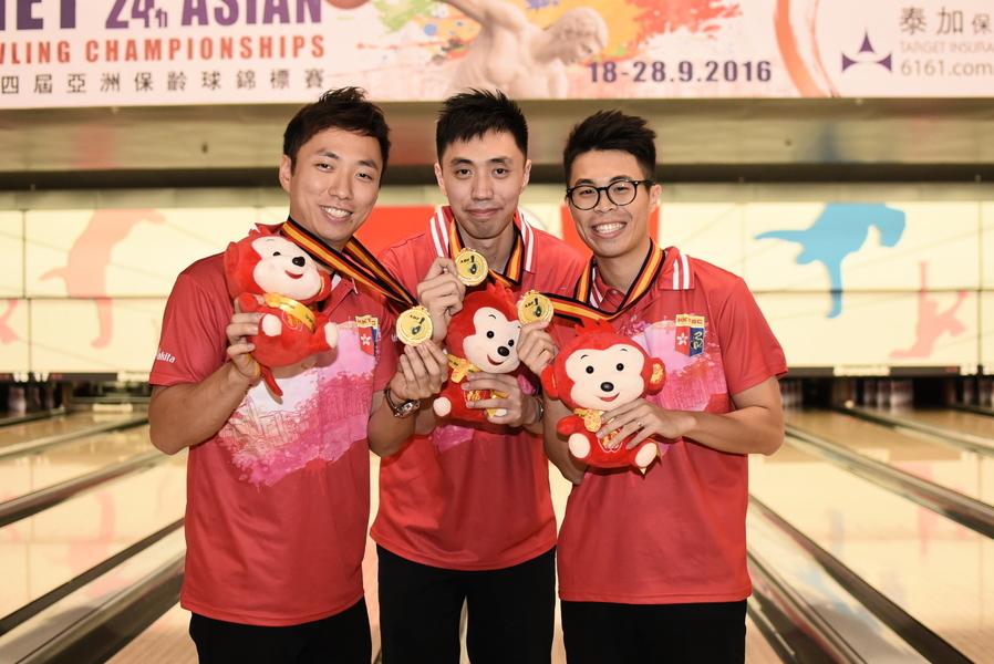 港隊亞洲保齡球錦標賽再添金牌