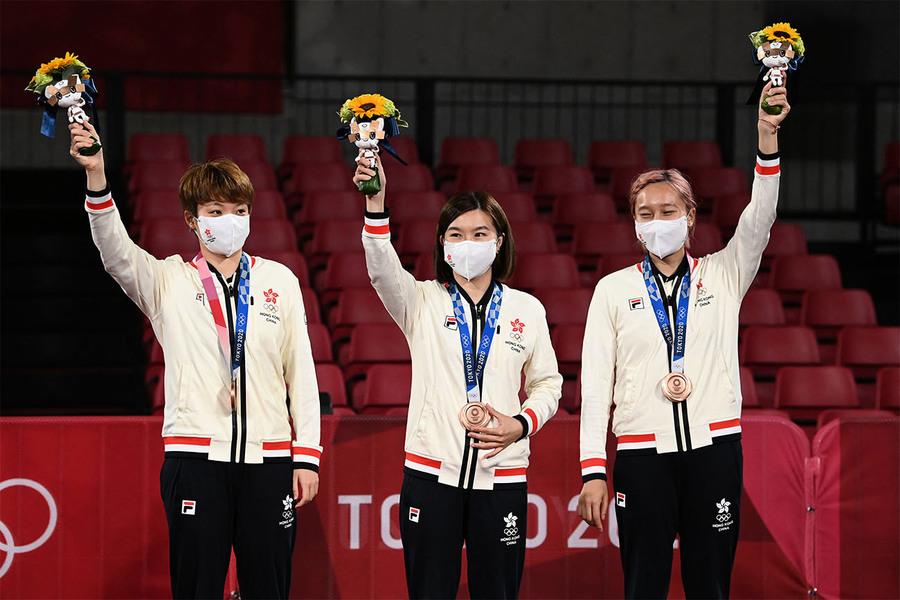 港隊單日增添兩面奧運銅牌