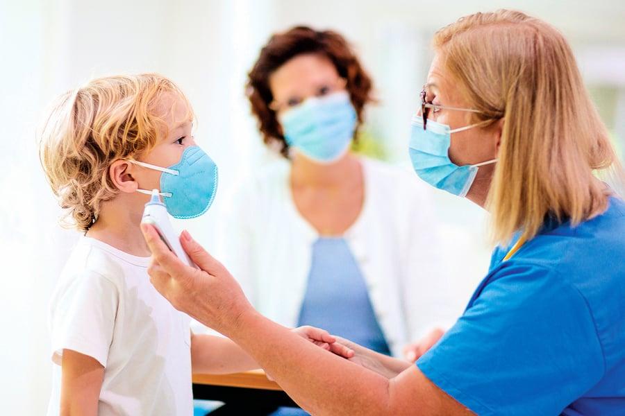兒童染疫勿輕忽 感染風險與成人有差異