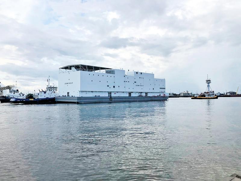 美軍新造一艘「挪亞方舟」  駛向日本橫須賀基地