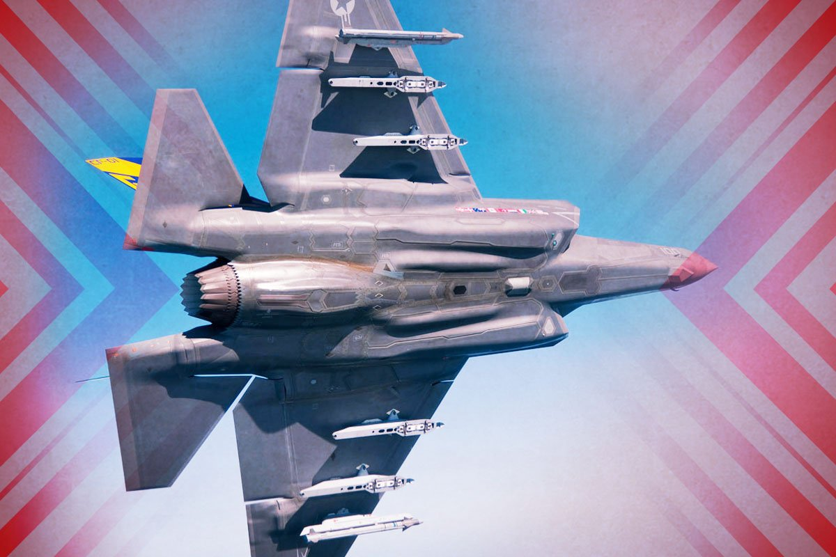 F-35C首次全球海上部署。(大紀元製圖)