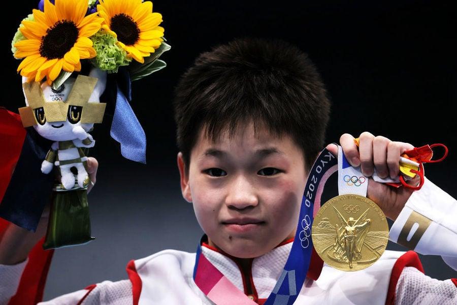 東奧8.5 中國14歲少女跳水奪金 可憐身世曝光