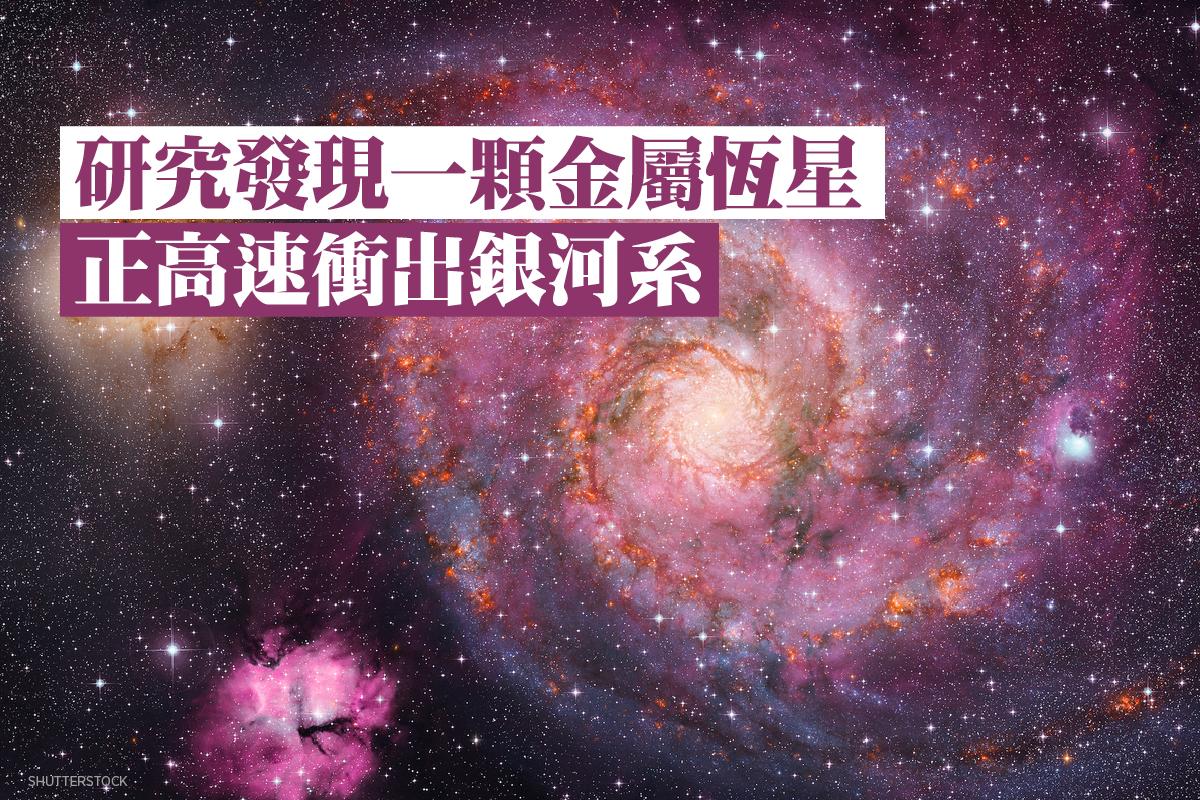 星系示意圖。(ShutterStock)