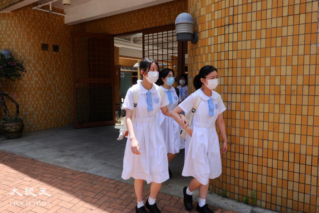 教育局昨日宣佈未來兩年為全港中小學包括特殊學校舉辦「國安教育到校教師工作坊」。資料圖片。(宋碧龍/大紀元)