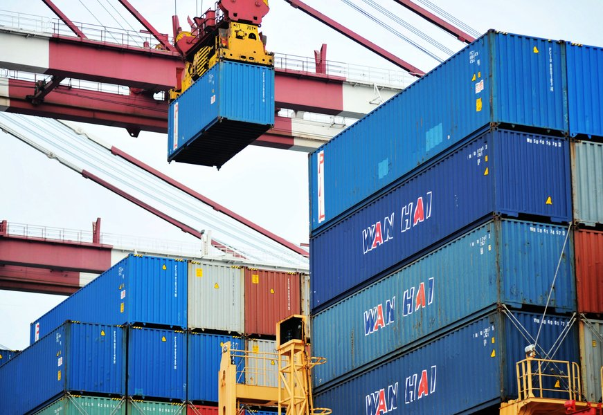 中國至北美海運漲5倍  陸商降國際競爭力