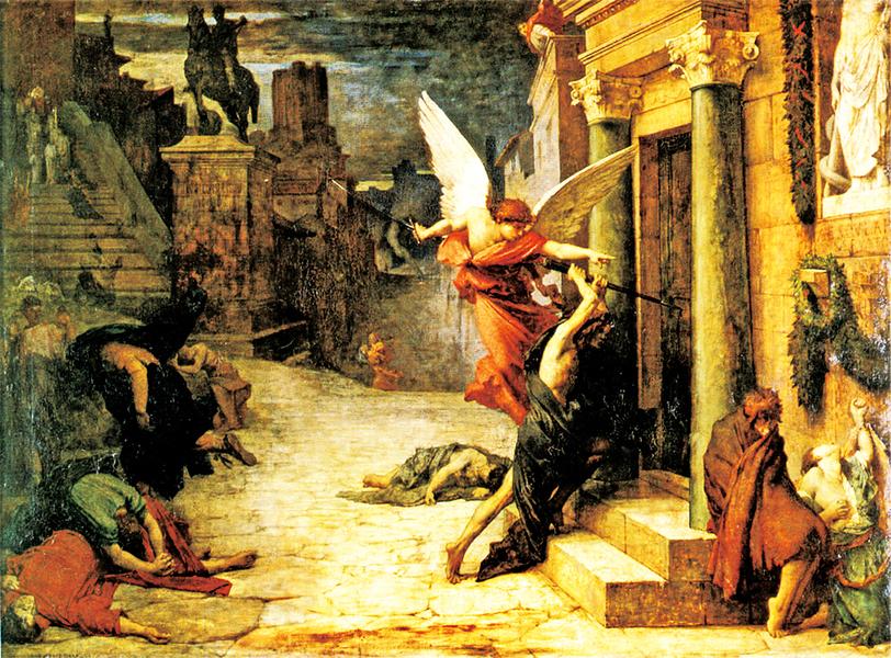 名畫中羅馬帝國的正邪較量與大瘟疫(下)