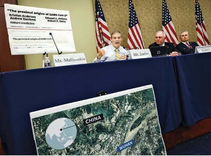 今年6月份,美國眾議院外委會共和黨人在美國國會就中共病毒起源舉行論壇。(Getty Images)