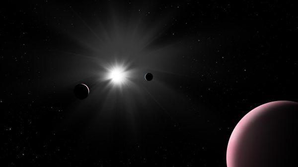 新發現獨特系外行星 含水量比地球還多