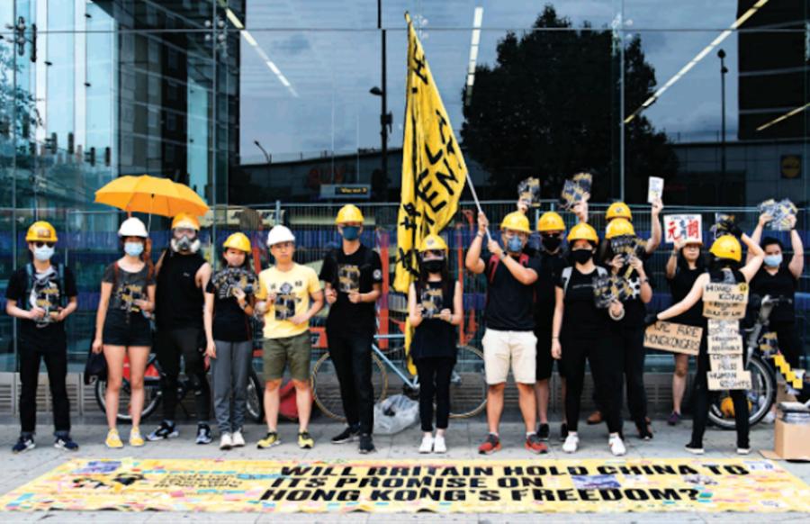 移英人權律師助政治庇護港人:為香港做好自己的本份