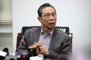 鍾南山被官媒點名批評 曾現身江綿恒「獨立王國」