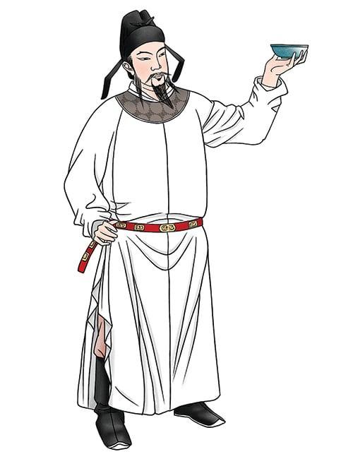李白,中國唐朝詩人,曾救過郭子儀。