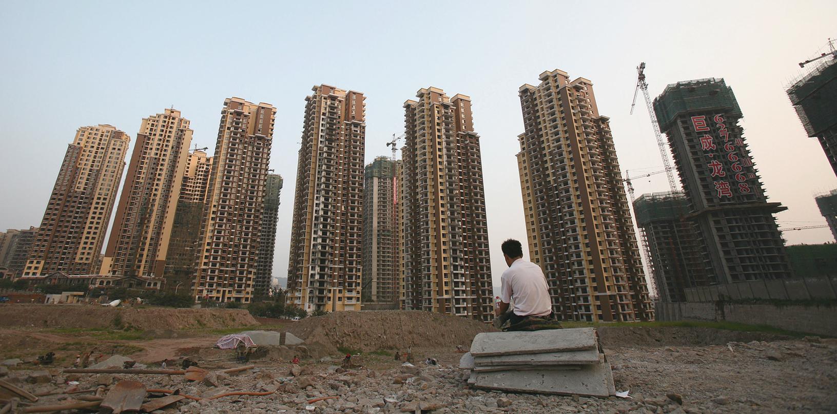 業內人士稱,這一輪急劇增長的房產泡沫是一個典型的槓桿資金推動。(Getty Images)