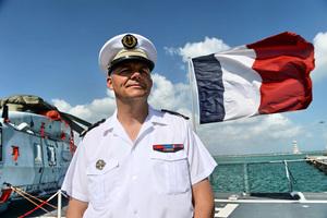 傳美台海巡首度聯合操演 法國艦艇現身台灣外海
