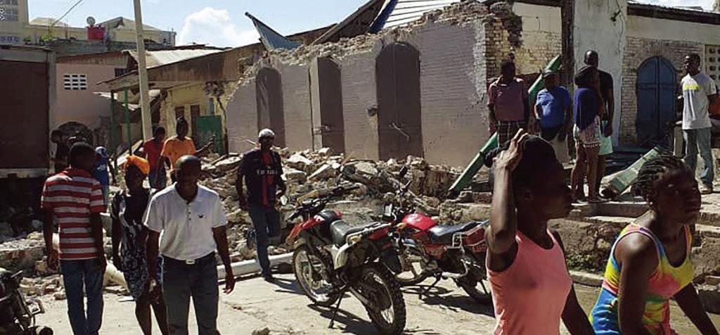 海地發生7.2級地震 逾300人喪生