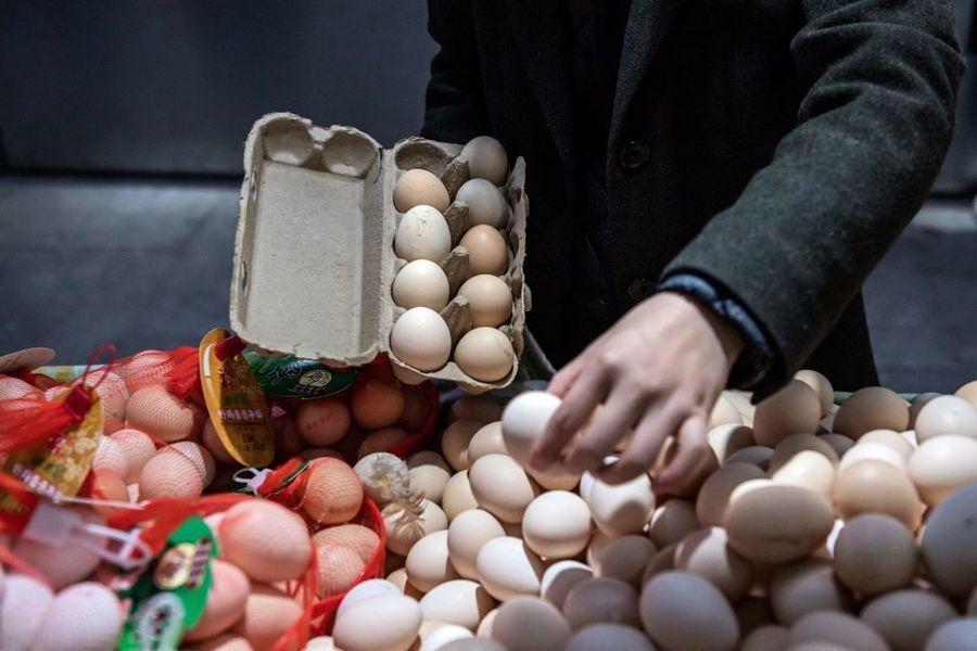 大陸雞蛋價格持續上漲  環比漲近20%