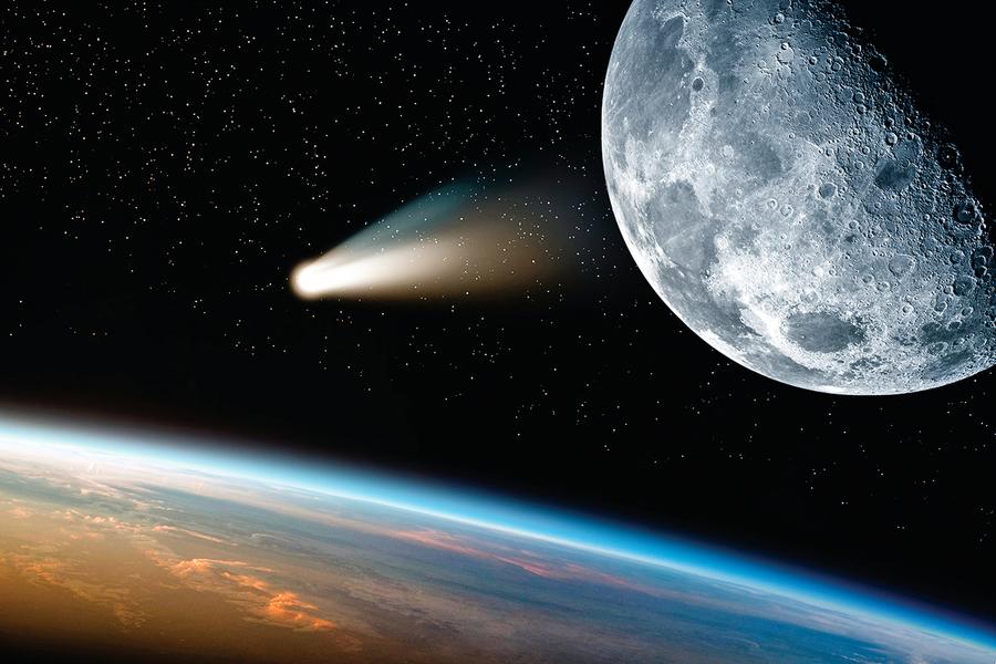 研究:月球的出現或有助地球含氧量大幅提升