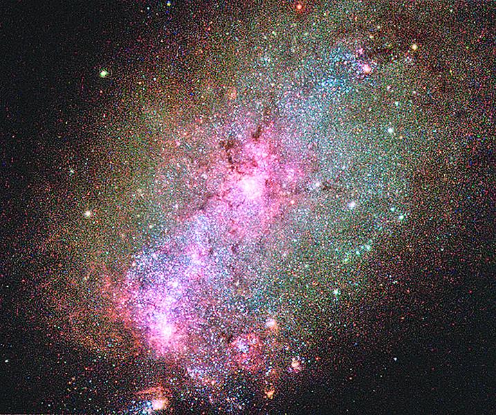 哈勃觀測到壯觀天象 顯示宇宙正發生巨變